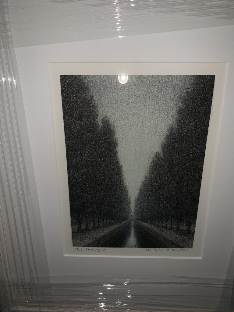 Kanal, litografi, B, Christopher Rådlund