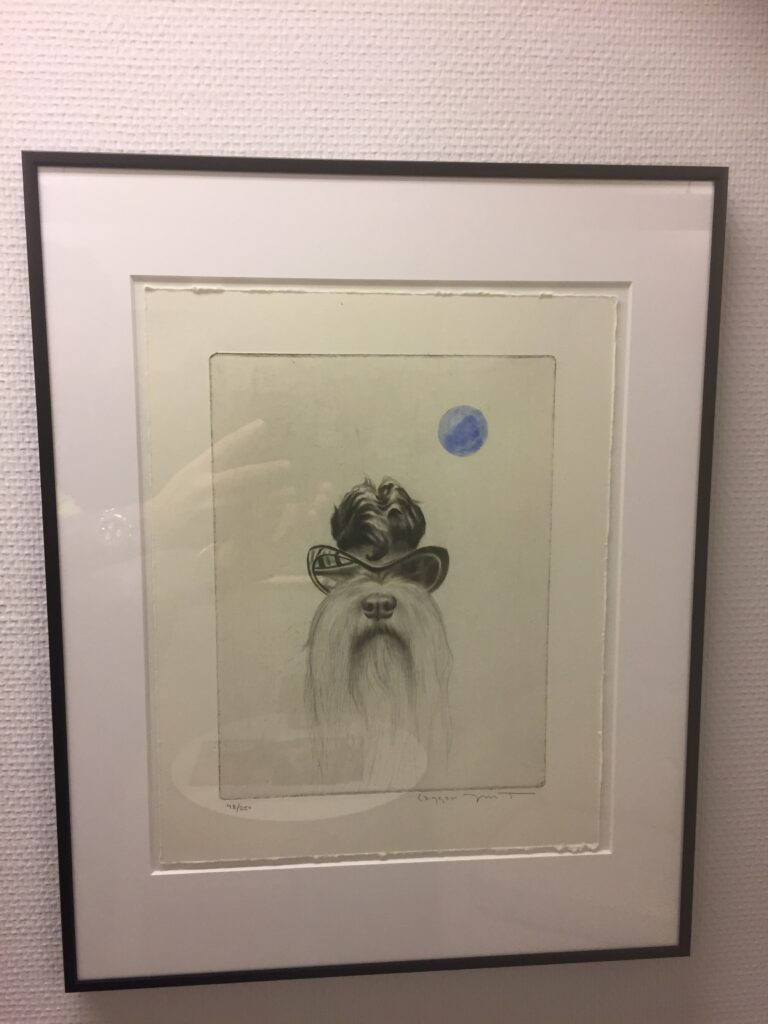 3Raggar-Signe, litografi, A, Laggar Jan Tigerstrand