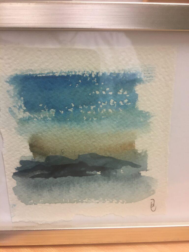 6Utan titel, akvarell, A, Jenny Forsgren