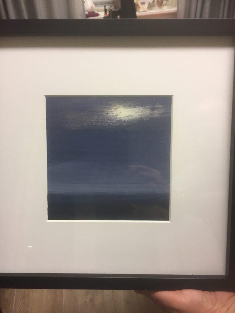 9Blue, olja/akryl, B, Mats Christoffersson