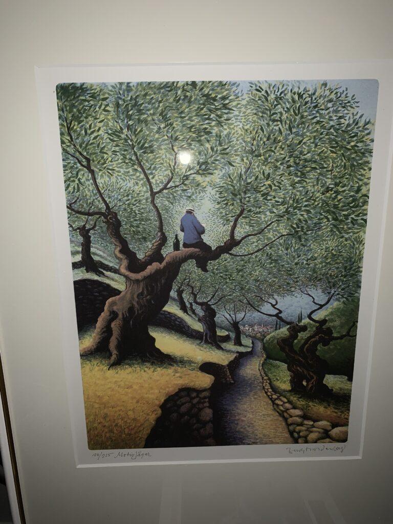 Motivjägare, litografi, C, Bengt Nordenborg